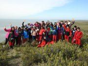 Escolares de Porvenir realizaron excursión educativa a Bahía Lomas, uno de los humedales más importantes de Sudamérica
