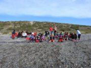 Estudiantes de Porvenir hicieron excursión a Bahía Lomas